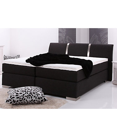 Boxspringbett, Breckle, Made in Germany - 1(=schwarz) - Liegefl.140/200cm - Härtegrad2