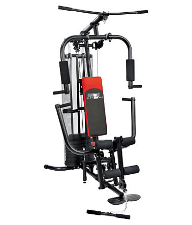Fitness Station, Christopeit, »SP 10 de Luxe« - schwarz/rot