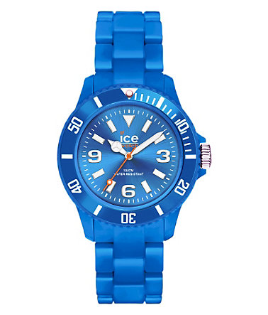 ice-watch Quarzuhr »ICE-SOLID Blue Small, SD.BE.S.P.12« - blau