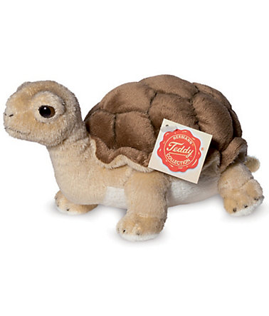 Teddy Hermann® COLLECTION Plüschtier, »Schildkröte, 20 cm« - braun
