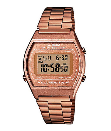 Casio Collection Chronograph »B640WC-5AEF« - roségoldfarben