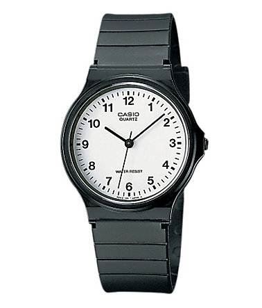 Casio Collection Quarzuhr »MQ-24-7BLLGF« - schwarz