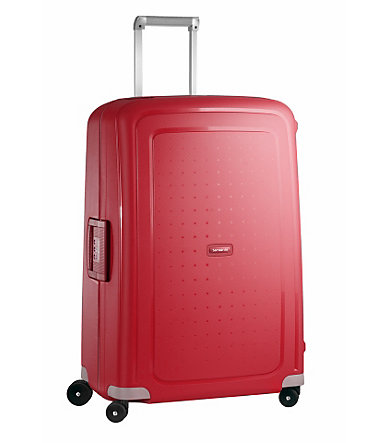 Samsonite Trolley mit 4 Rollen »S´Cure Spinner« - rot