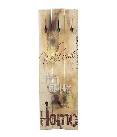 Home affaire, Garderobe, »Welcome to our Home«, 45/140 cm -