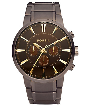 Fossil Chronograph »MEN´S OTHER, FS4357« - braun