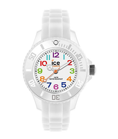ice-watch Quarzuhr »ICE-MINI, MN.WE.M.S.12« - weiß