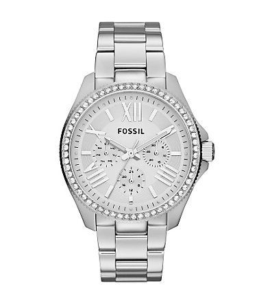 Fossil Multifunktionsuhr »CECILE, AM4481« - silberfarben
