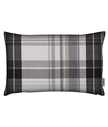 Kissenhülle, Tom Tailor, »Cosy New Check« (1-er Pack) - natur - 1(30x50cm)1
