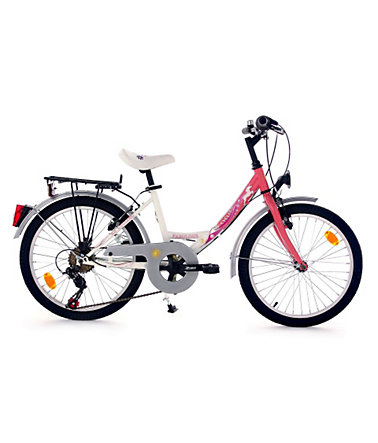 Kinderfahrrad, KS Cycling, »Fabulous«, 20 Zoll, rosa, 6 Gang Shimano Toruney, V-Brake - rosa - RH33cm
