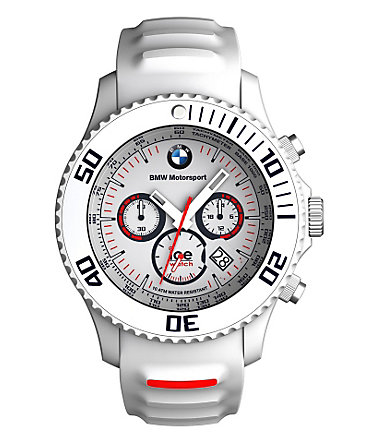 ice-watch Chronograph »ICE-BMW-MOTORSPORT Big, BM.CH.WE.BB.S.13« - weiß