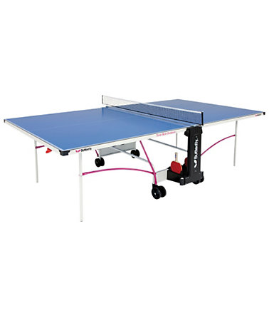 TT-Tisch, Butterfly, »OUTDOOR TABLE TIMO BOLL «, internationales Turniermaß - blau