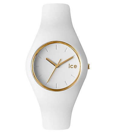 ice-watch Quarzuhr »ICE-GLAM, ICE.GL.WE.U.S.13« - weiß