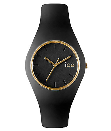 ice-watch Quarzuhr »ICE-GLAM Black, ICE.GL.BK.U.S.13« - schwarz