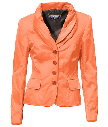 ASHLEY BROOKE by Heine Schalkragen-Blazer mit Glanz - orange - 3434