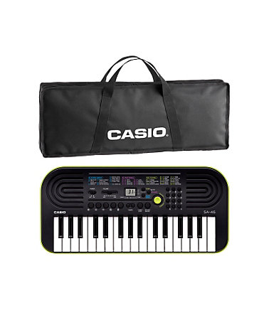 Casio® Mini Keyboard Set, »SA 46« - grün-schwarz