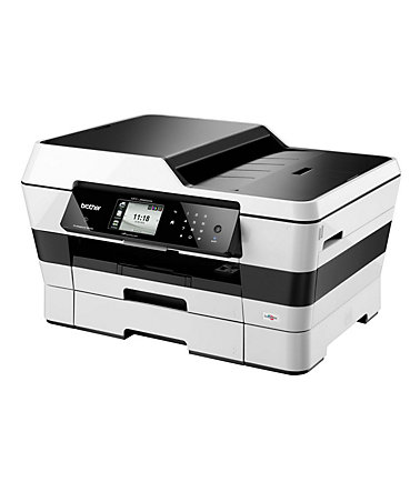 Brother Tintenstrahl-Multifunktionsdrucker »MFC-J6920DW DIN A3 4in1« - Silber