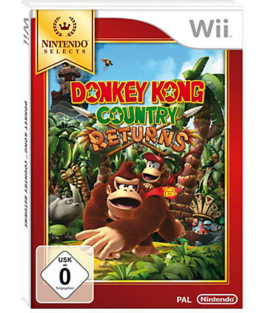 Donkey Kong Country Returns Nintendo Selects Wii -