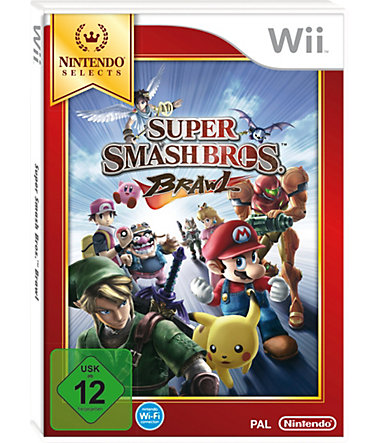 Super Smash Bros. Brawl Nintendo Selects Wii -