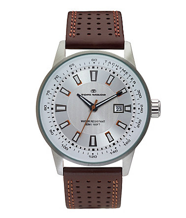 Tom Tailor Quarzuhr »5411503« - braun