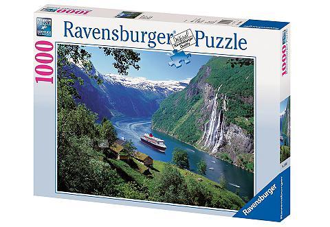 Dėlionė 1000 Teile »Norwegischer Fjord...