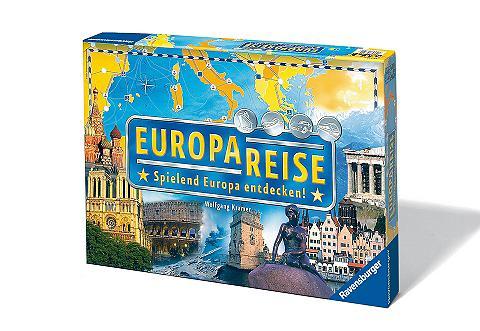 Wettlauf-Spiel »Europareise«