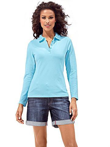 Polo marškinėliai ilgomis rankovėmis
