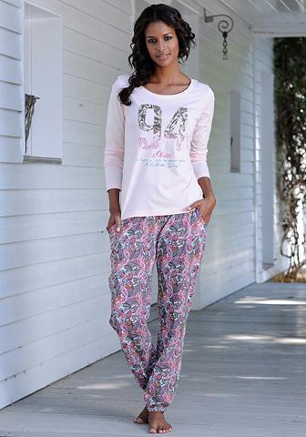 Bodywear pižama su mehrfarbigem margo ...