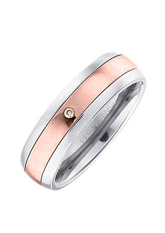 Vestuvinis žiedas bicolor