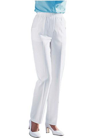 CLASSIC BASICS Kelnės su 2 dekoratyvinės sagos ant li...