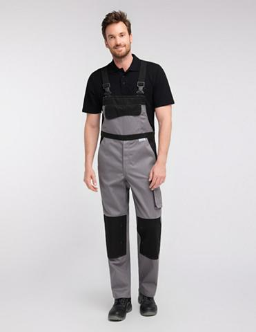 PIONIER WORKWEAR Funktions-Latzhose Color Wave