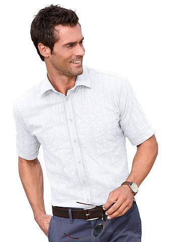 MAXCLUSIV Marškiniai su suapvalintas apsiuvas