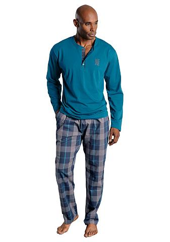 Medvilninė pižama su Marškinėliai apva...