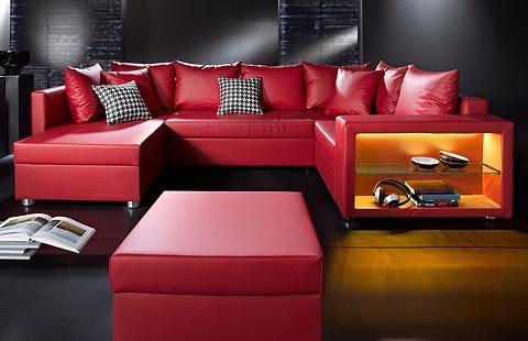 Sofa patogi su LED-RGB Apšvietimas