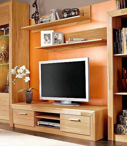 Rinkinys: TV staliukas ir lentyna (3 v...
