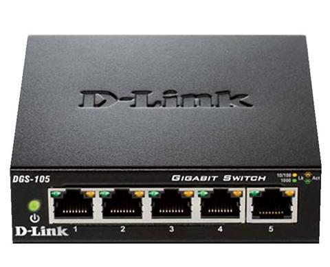 D-Link Switch »DGS-105 5-Port Layer2 Gigabit ...