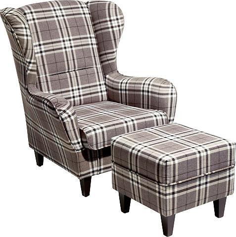Fotelis su Kojų kėdutė »Nicola«