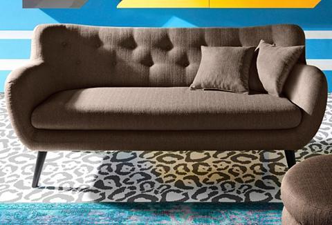 INOSIGN Trivietė sofa im retro stilius