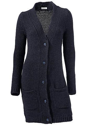 Priglūdęs ilgas megztinis