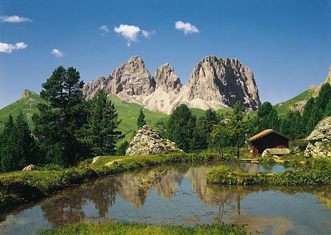 Fototapetas »Dolomiten«