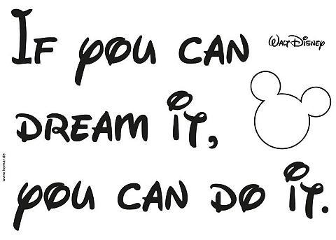 KOMAR Sienų lipdukai »! You can do it«