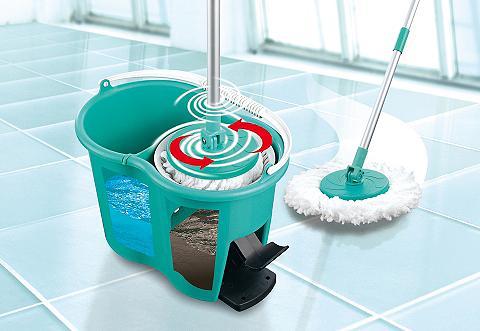 CLEANmaxx Power-Wischmopp türkis
