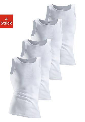 CLIPPER Apatiniai marškinėliai (4 vienetai) iš...