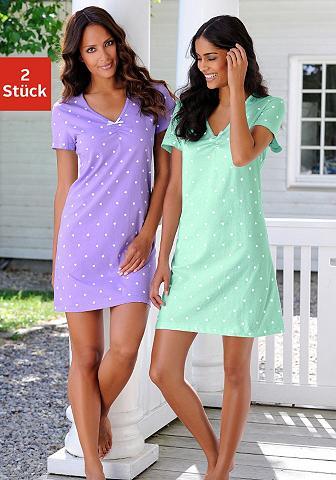 Naktiniai marškiniai (2 vienetai) su H...