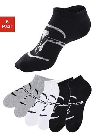 Kojinės sportbačiams (6 poros) ideal f...