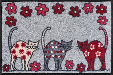 Durų kilimėlis »Cat Parade« wash+dry b...