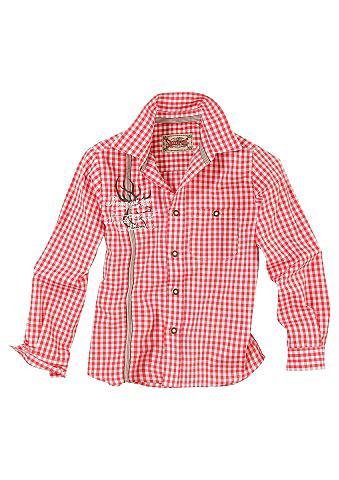 Tautinio stiliaus marškiniai dėl Kinde...
