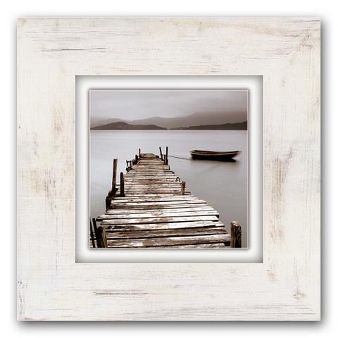 Holzbild »Steg« 40/40 cm
