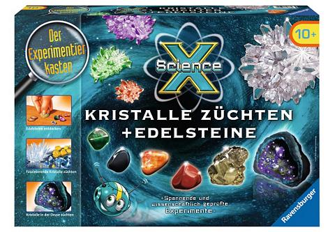 RAVENSBURGER Experimentier-Set »Science X® Kristall...