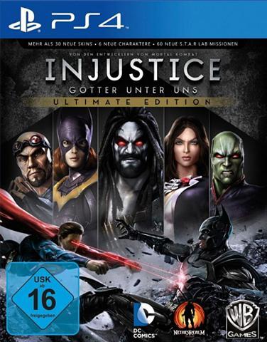 Playstation 4 - Spiel »Injustice - Ult...