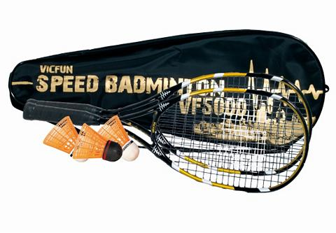 Speedbadminton-Set ir 2 Schl